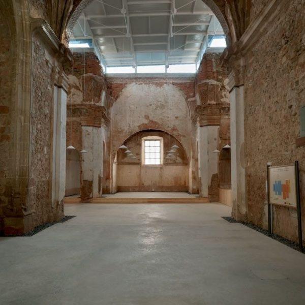 Cripta del Monasterio de Vico