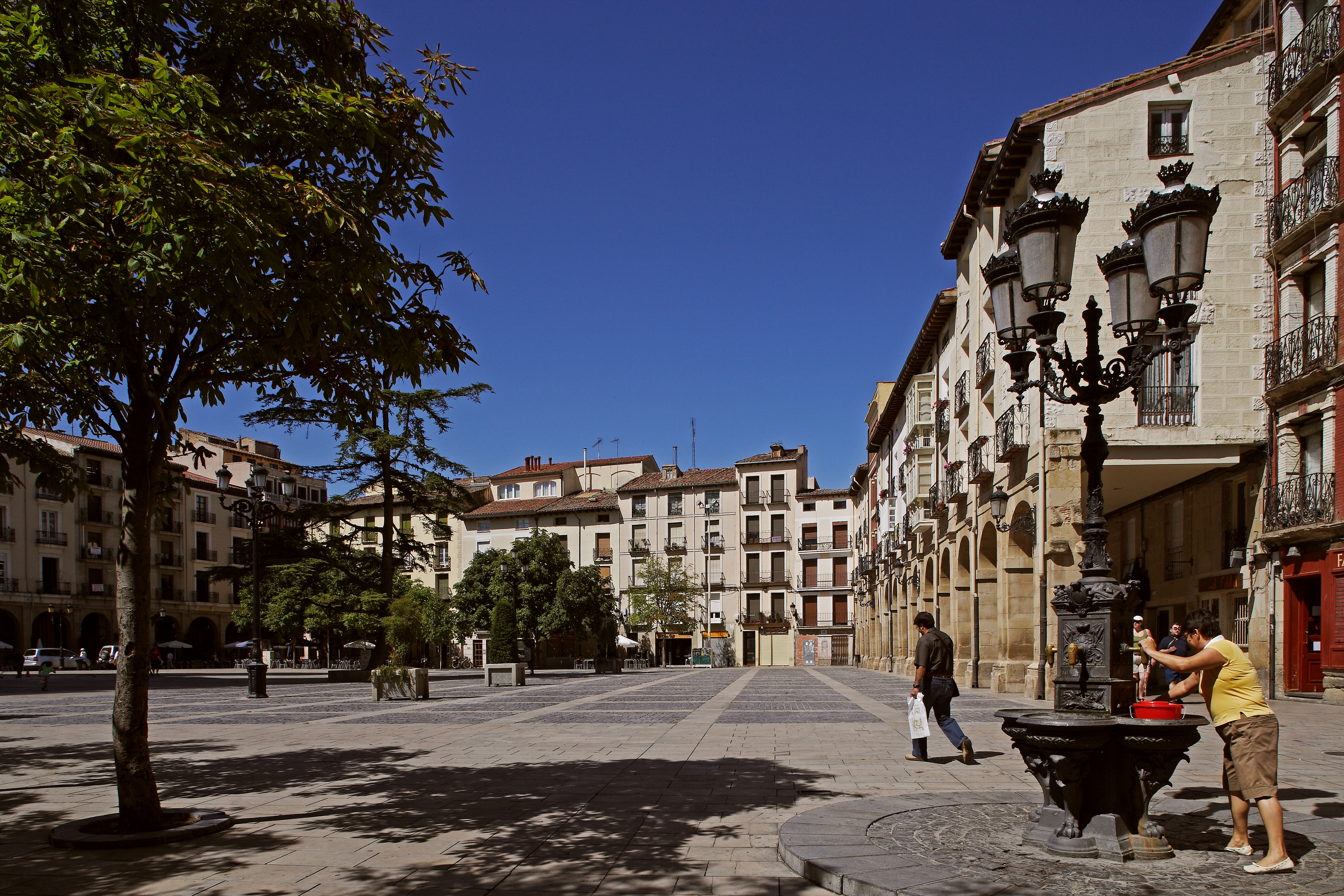 Plaza del Mercado - Logroño