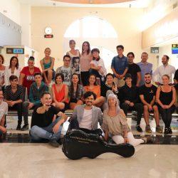 Embajadores de La Rioja, con el guitarrista Pablo Sáinz Villegas