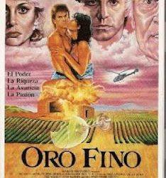 Cartel película Oro Fino