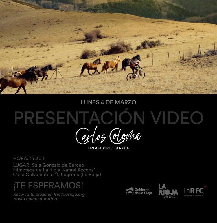 Vídeo oficial de Carlos Coloma Nicolas como Embajador de La Rioja