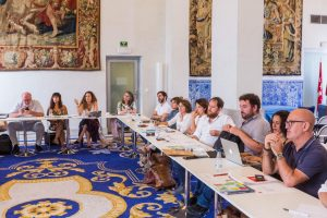 El pasado jueves, 27 de junio, se celebró en el Salón Real de Casa de la Panadería de Madrid auspiciados por el equipo de Madrid Film Office.